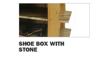 Shoe Box with Stone