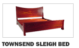 Townsend Sleigh Bed